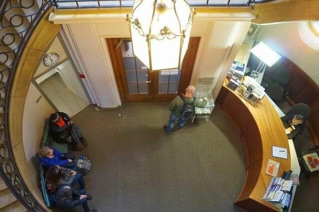 vestíbulo de la entrada casa de la conferencia de Wannsee