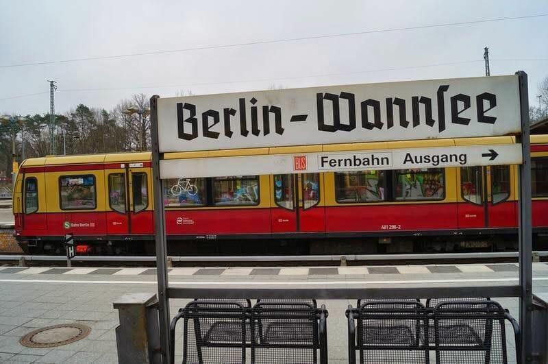 estación de tren de Wannsee