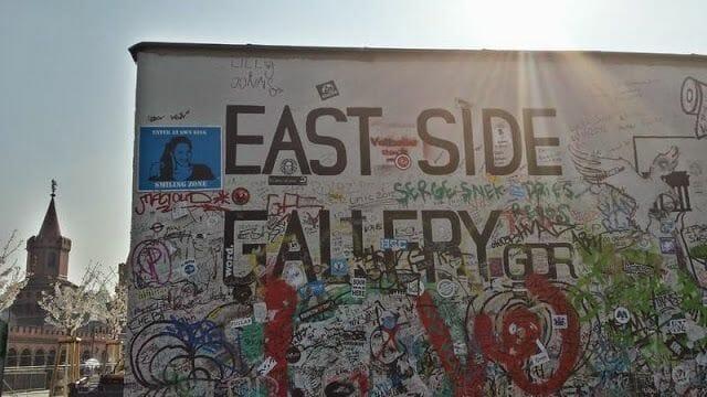 Los murales del muro de Berlín del East Side Gallery