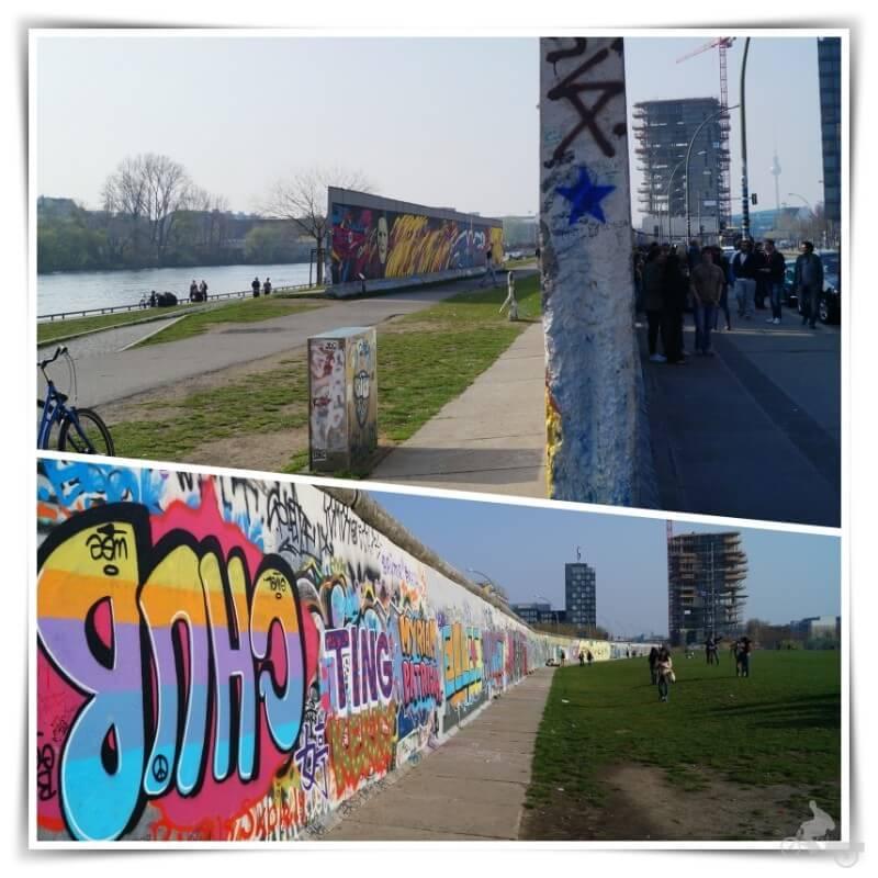 muro Berlín y río Spree