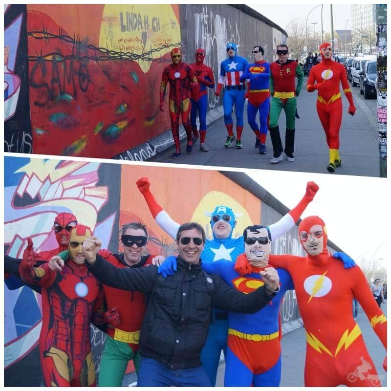 Los superhéroes de marvel con el superhéroe Hector de Mi baul de blogs
