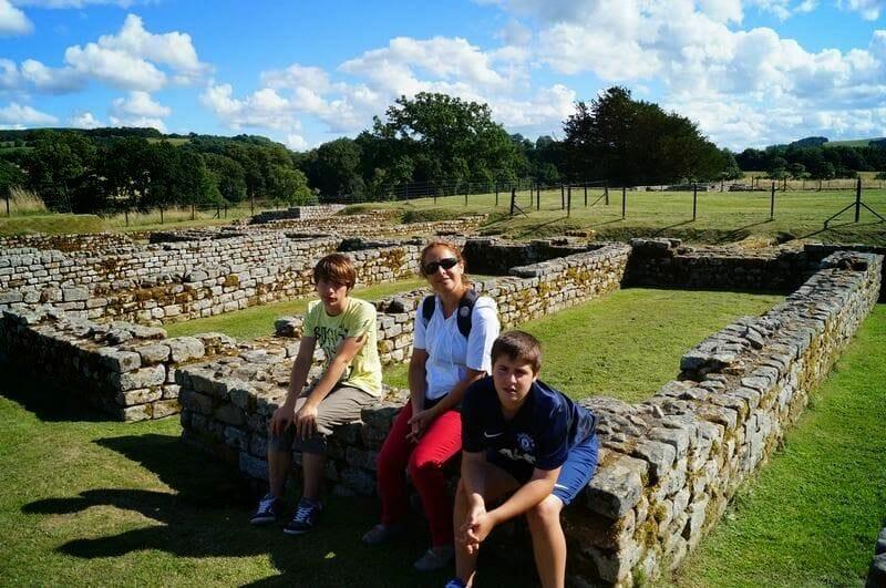 CHESTER ROMAN FORT muro de adriano
