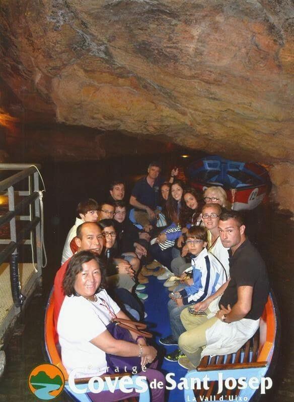 barca de las grutas de San José