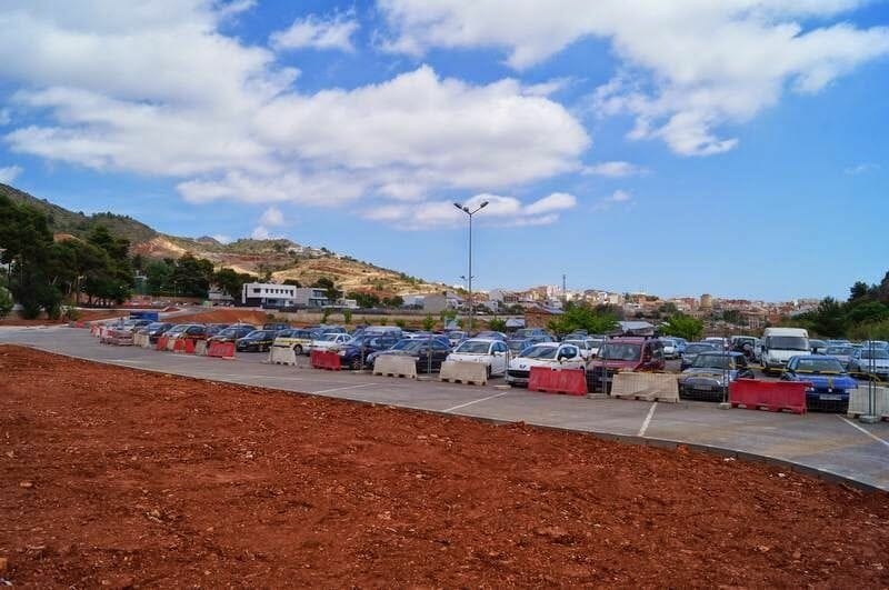 parking coves de Sant Josep