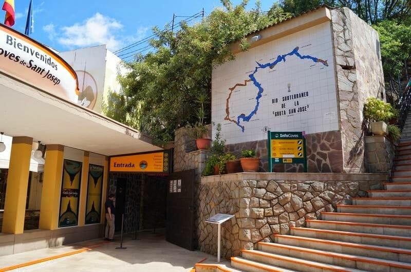 entrada de las grutas de San José
