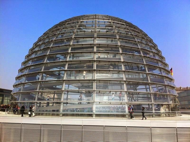 Cúpula del Bundestag - Subir a la cúpula del parlamento alemán
