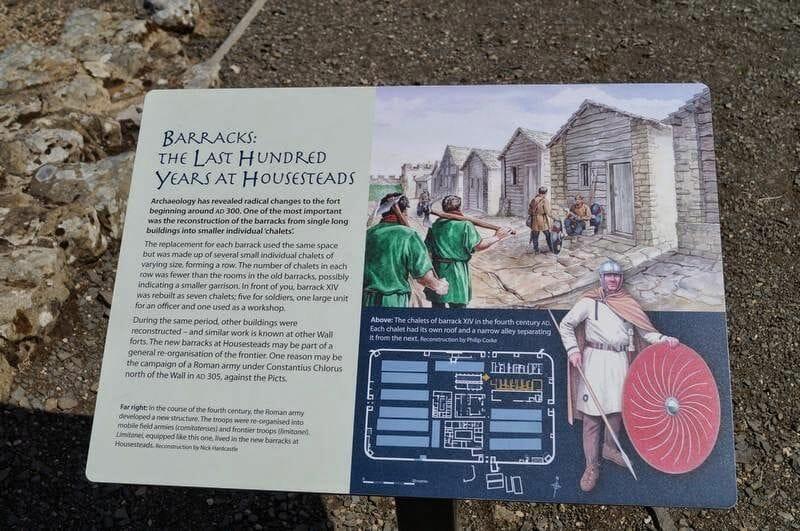 HOUSESTEADS ROMAN FORT cartel
