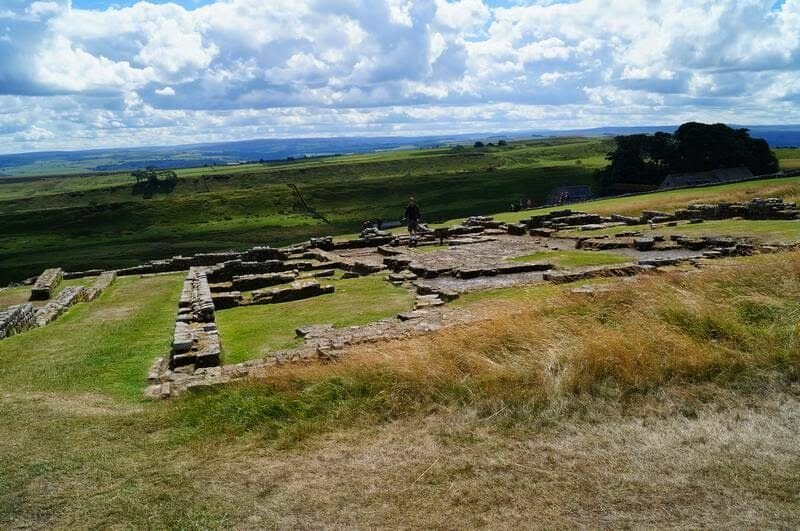 HOUSESTEADS ROMAN FORT hadrian wall