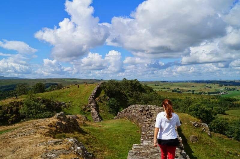 Walltown Crags trozo muro de adriano