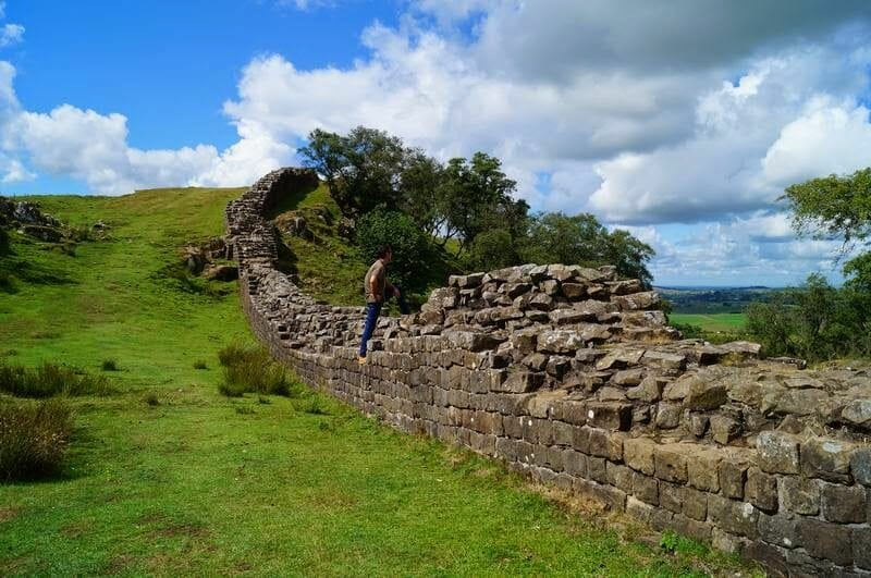 muro adriano Walltown Crags