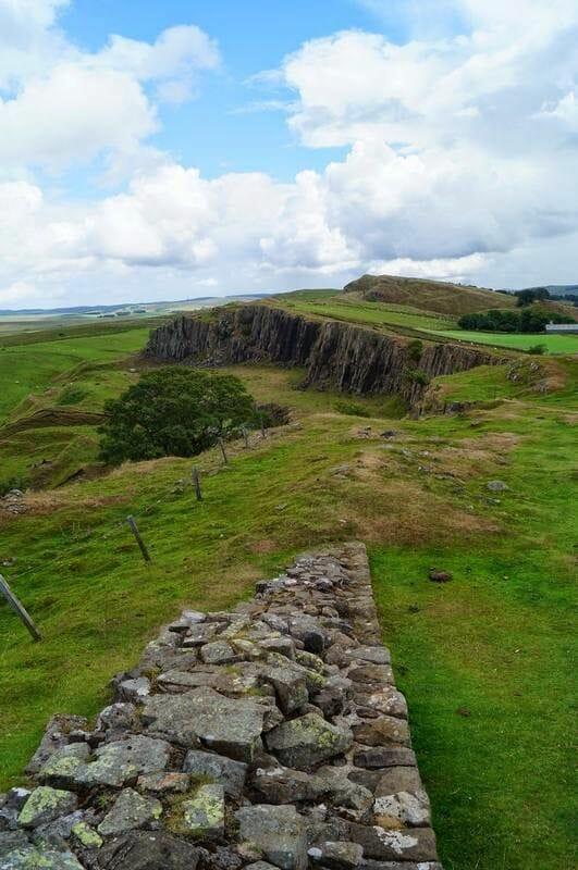 Walltown Crags muralla adriano