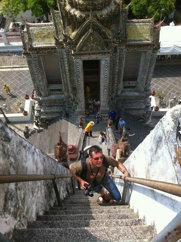 torre central del templo de Wat Arun (prang)