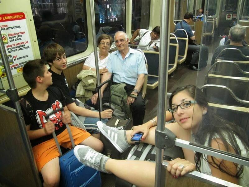 vagón tren aeropuerto chicago