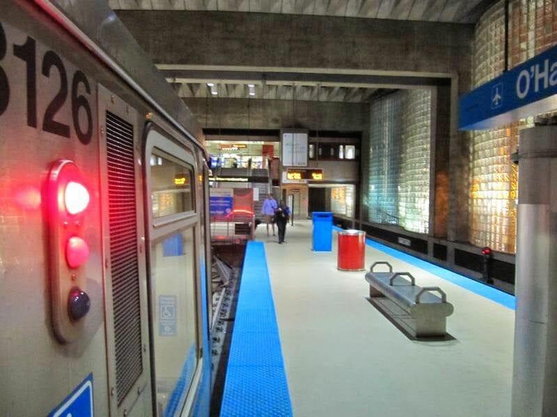 tren aeropuerto chicago