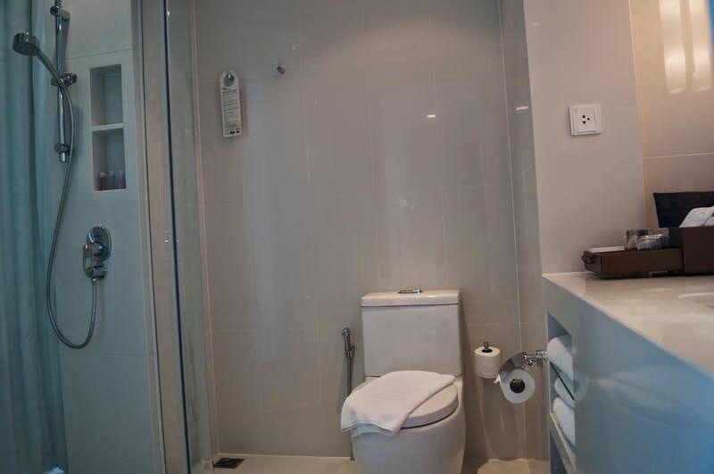 lavabo hotel Centara Bangkok