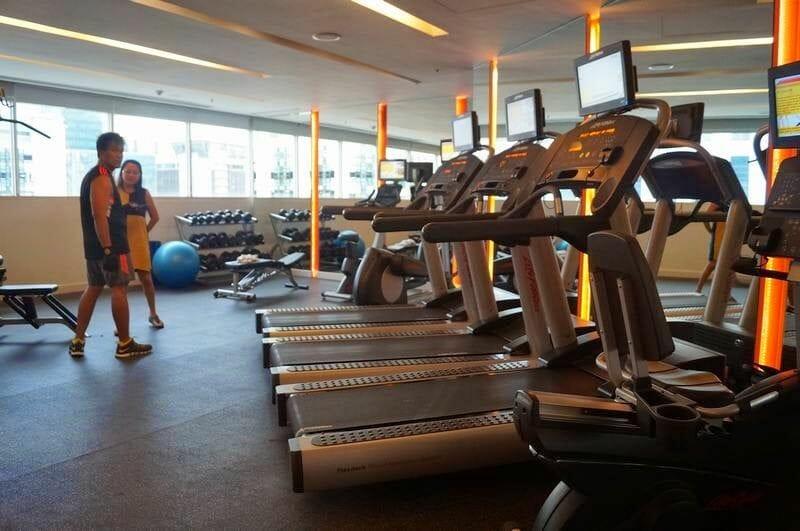 gym hotel Centara Bangkok