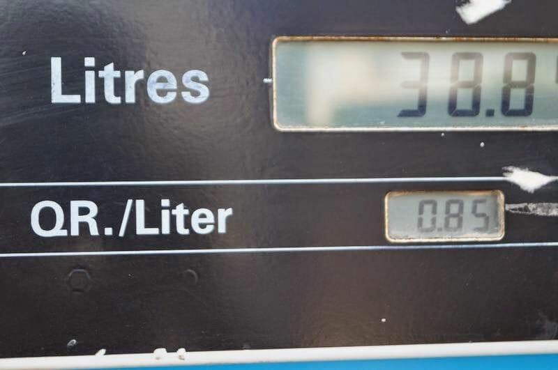 litro gasolina qatar