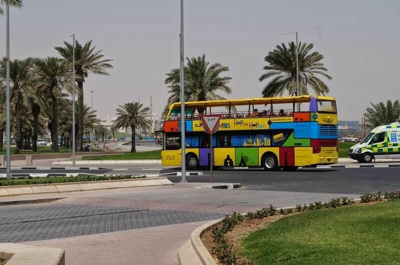 autobús turístico de Doha