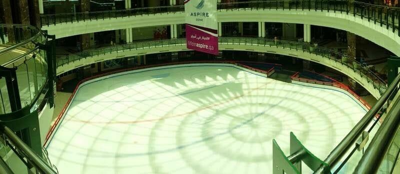 centro comercial Qatar center - stopover en Doha escala