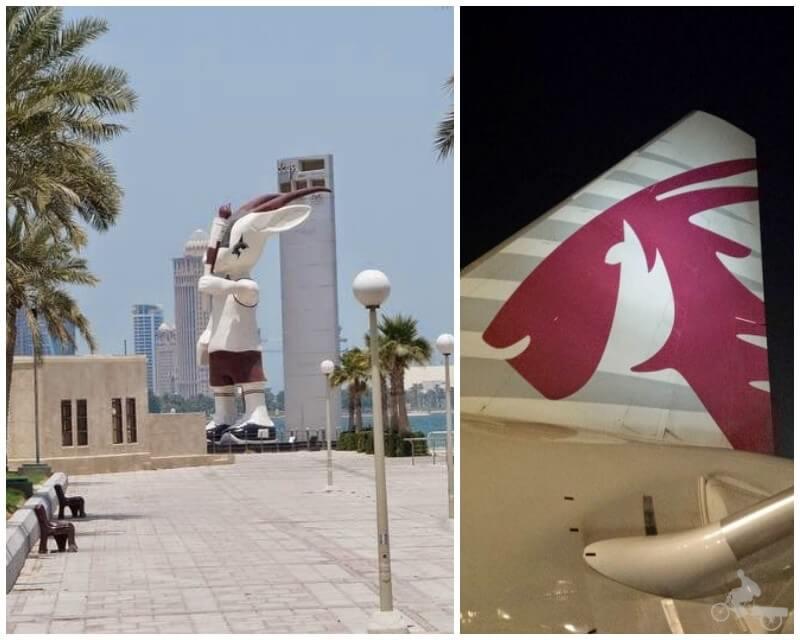 orix de qatar símbolo o icono o logo - qué ver en Doha en un día