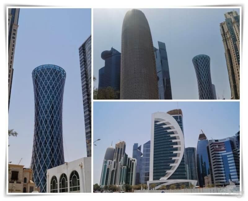 rascacielos - qué ver en Doha en un día