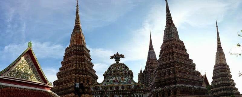 Wat Pho estupas