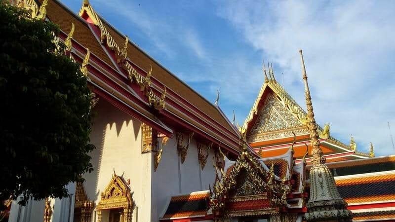 Wat Pho templo buda tumbado