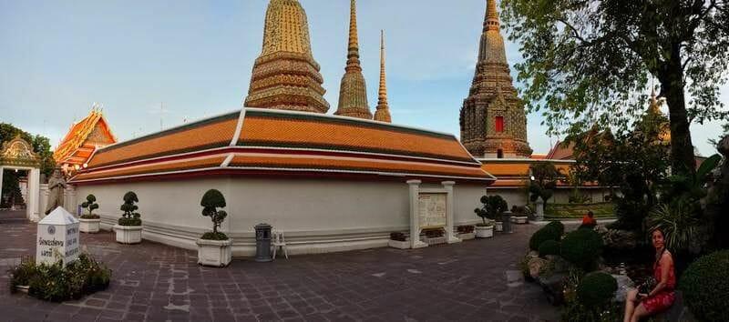 Wat Pho, templo buda reclinado