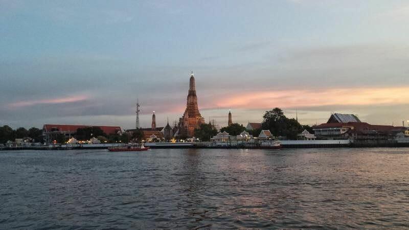 Wat Arun templos de Bangkok