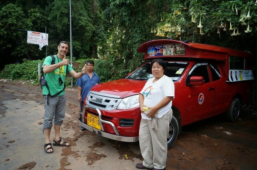 ruta por chiang mai