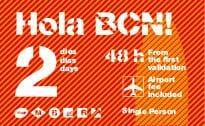 hola barcelona tarjeta