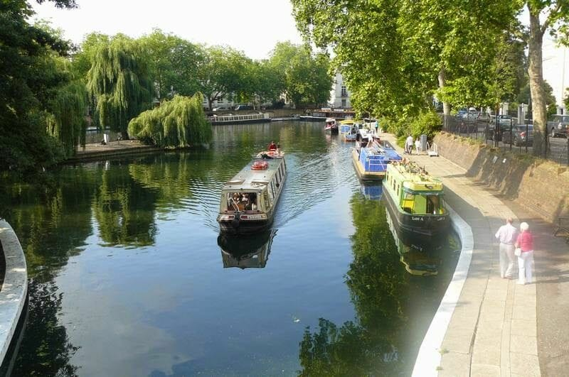 Jason's original canal boat trip