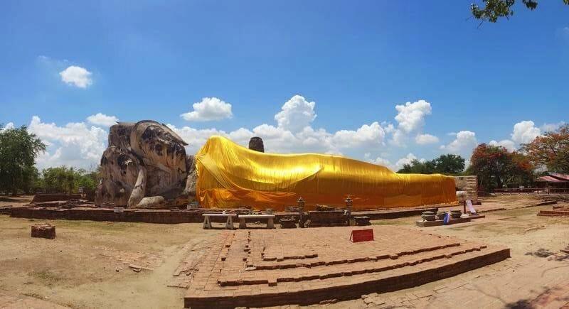 Wat Lokayasutharam o Buda reclinado