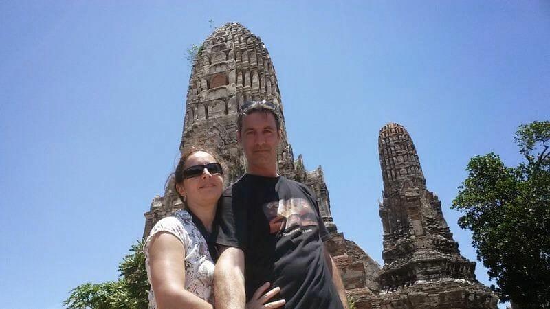 Wat Chaiwatthanaram templo ayutthaya
