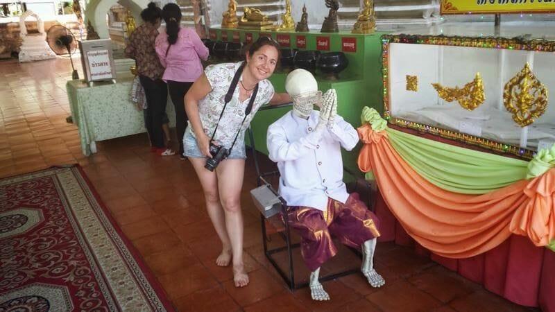 esqueleto tailandia
