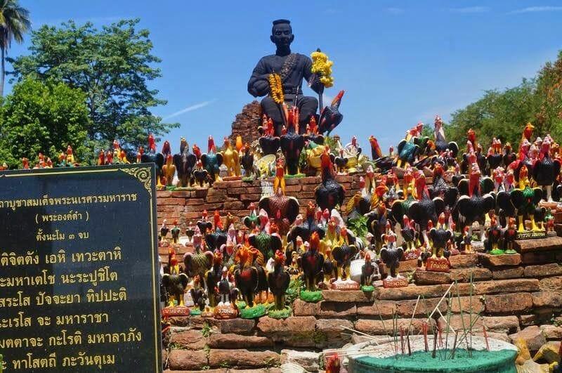 Wat Thammikarat gallos