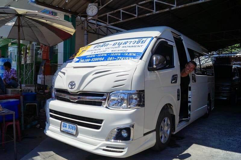 vans de ayutthaya a bangkok