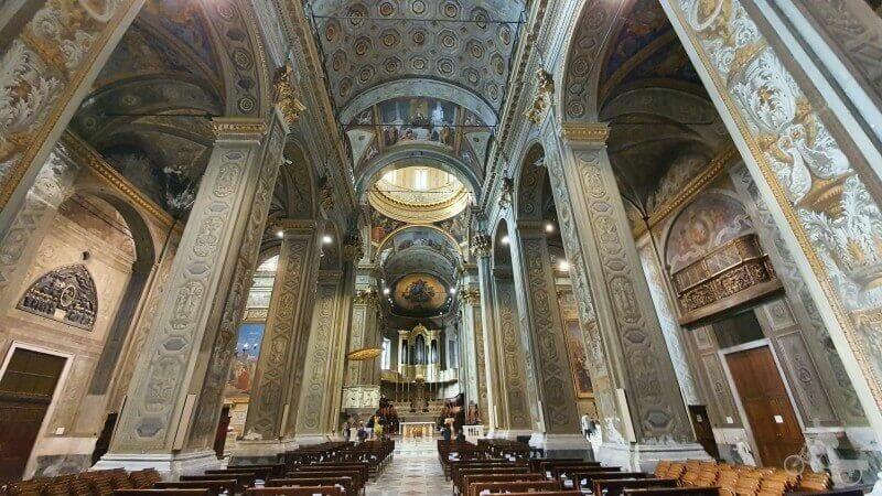 catedral de Savona interior