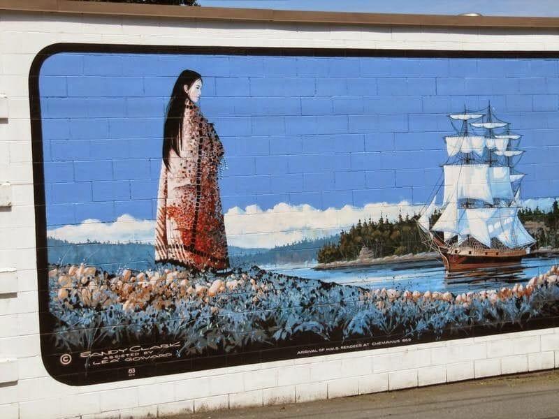 murales chemainus, murales en edificios, murales pintados en paredes, murales pintados, arte mural,