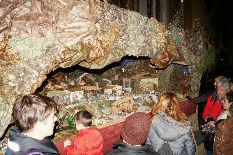 Oratorio de Cristo Risorto belen navidad