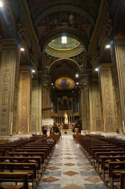 Catedral de Savona nave principal