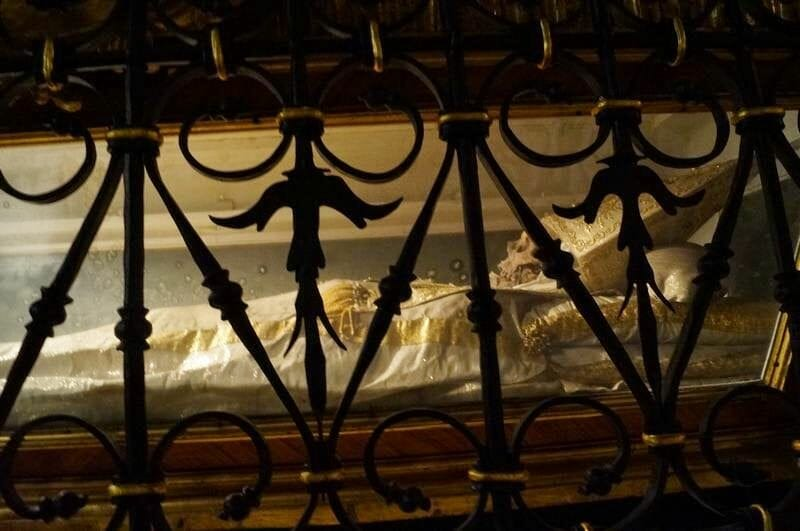 sepulcro del Papa Sixto I