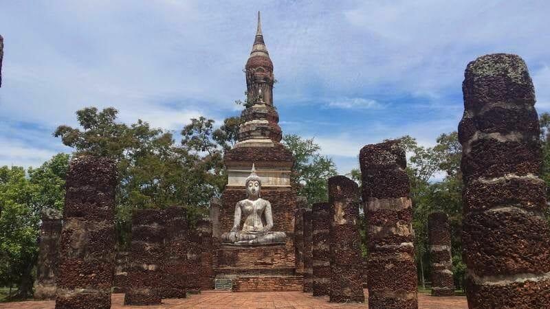 Wat Si Sawai, templos de Sukhothai, templos de Tailandia