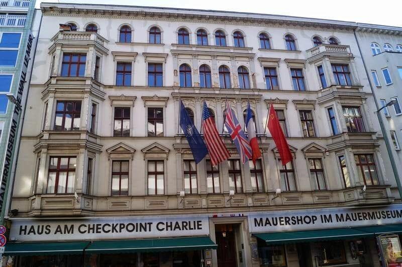 Checkpoint Charlie Berlín en 4 días