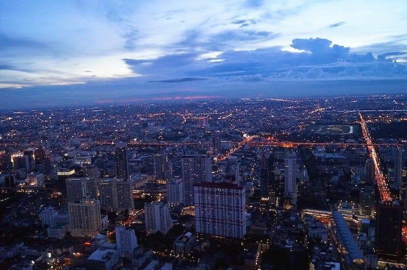 Bangkok de noche desde Top Baiyoke Tower Bangkok