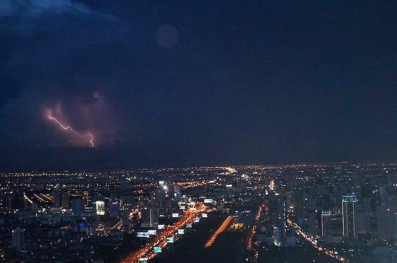 Top Baiyoke Tower Bangkok night