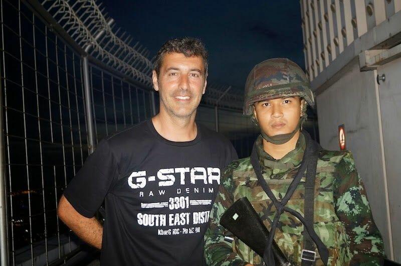 militar baiyoke tower bangkok
