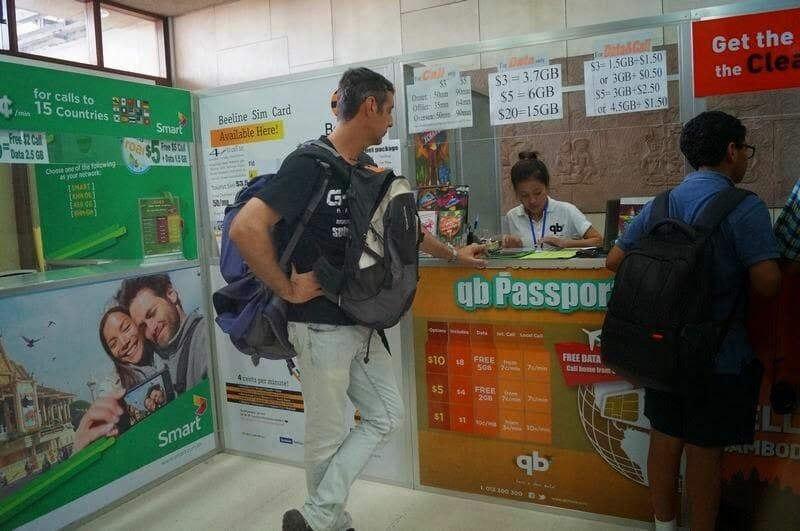 como llegar a Siem reap desde el aeropuerto
