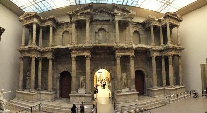 plaza del Agora de Mileto