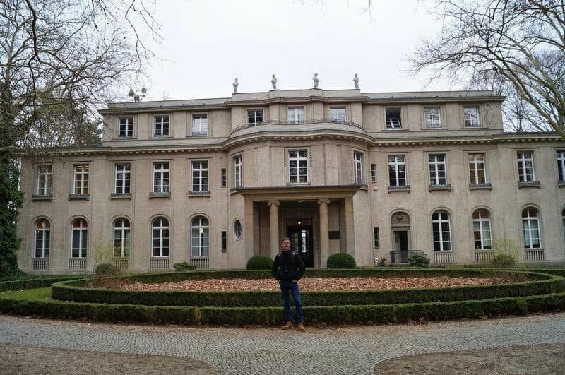 fachada de la Casa de la Conferencia de Wannsee